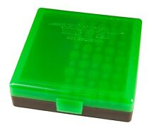 1 BERRYS AMMO BOX ZOMBIE GREEN/BLACK 22LR 45 ACP 10MM 100 rd BUY 9 GET 1 FREE