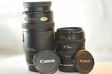 Canon EF 28-70mm 70-210mm 2 lens SET Japan for EOS T5 T6i 40D 50D 5D 7D 60D 70D