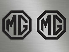 MG Logo Badge Car Vinyl Decals Stickers Window MG3 MG6 MGB TF ZR ZS ZT TD MGF