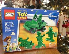 NEW- LEGO 7595 Toy Story Army Men on Patrol  90 pcs.  4 Mini Figures