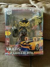 "Transformers Limited Edition ""Metallic Gold Finish"" Bonus Mudflap Bumblebee VHTF"