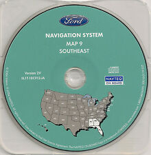 03 04 05 06 Ford Expedition Navigation CD Map Southeast Cover: AL GA FL