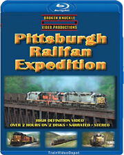 Pittsburgh Pennsylvania Railfan Expedition BLU-RAY Broken Knuckle train video