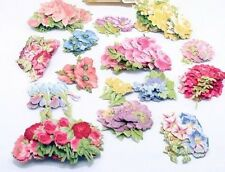 30 Stunning PASTEL Anna Griffin FAVORITE 3D FLOWERS II ... ROSES GALORE!