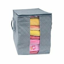 SWADEC Bamboo Charcoal Folding Clothes Sweater Blanket Closet Organizer Storage