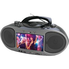 "NEW Naxa Ndl-256 7"" Bluetooth(r) Dvd Boom Box"