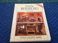 Making Dollhouse Miniatures Furniture In 1/12 Scale How-To Book