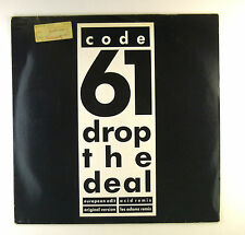 "12"" Maxi - Code 61 - Drop The Deal (Remix) - A3343 - washed & cleaned"