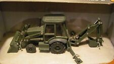 ERTL 1:50 Case 580 Super M Series 2 Miltary backhoe    NIB  olive drab