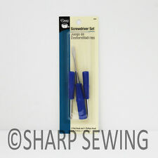 DRITZ 3 PIECE SEWING MACHINE SCREWDRIVER SET #905
