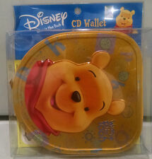 RARE DISNEY WINNIE THE POOH CD DVD DISC DISK WALLET POUCH TIN
