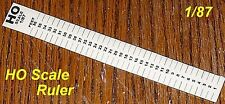 Scale Ruler For Modelers in HO Scale (1/87)