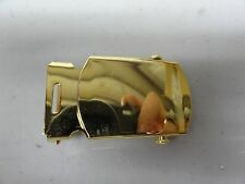 GENUINE US MILITARY ISSUE GOLD BELT BUCKLE NEW VANGUARD US ARMY FEMALE ONE PIECE