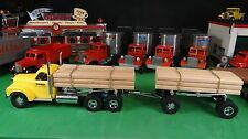 Smith Miller B Mack Lumber Truck with Pup