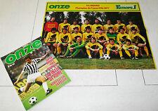 FOOTBALL ONZE N°18 1977 FC NANTES SAHNOUN JUVE-BILBAO HSV-ANDERLECHT LIVERPOOL