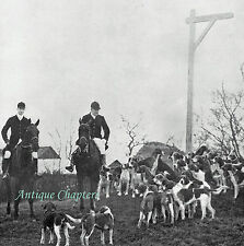 Fox Hunting The Cambridgeshire Hunt History Of 1905 4 Page Photo Article 9776