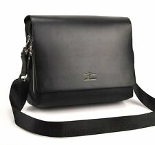 shoulder bag MENS bag genuine leather messenger sling black brown laptop kang