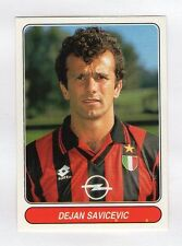 figurina EUROPEAN FOOTBALL STARS NUMERO 113 SAVICEVIC MILAN