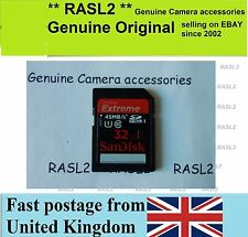 32 GB SD HC Memory card For Digital camera Canon Panasonic Nikon Samsung Casio