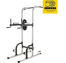 Home Fitness Gym Power Tower Golds Pull Push Chin Up Bar Exercise Dip Station