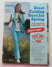 Montgomery Ward Mailer Spring Catalog 1971 Clothes, Tools, Garden, Auto & More