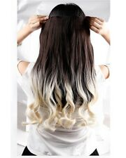 Real Thick 1pcs Clip in 3/4 Full Head Hair Extensions Extension as human hair f7