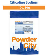 Powder City Citicoline CDP Choline Sodium Powder - 10 Grams