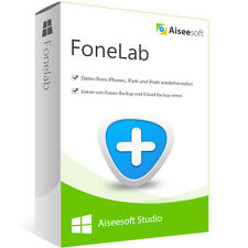 FoneLab 8 Aiseesoft Studio Windows dt.Vollvers.ESD Download 28,- statt 47,-