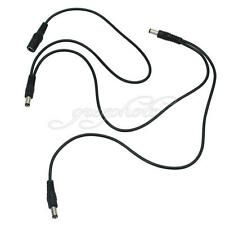 3 Way Daisy Chain Power Supply Splitter Effect Pedal Cable for Electric Guitar