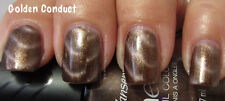 NEW! Sally Hansen Magnetic nail polish GOLDEN CONDUCT #901