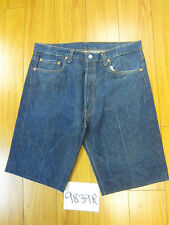 "Levi used 501 high waisted cut off shorts USATag 38"" Meas 36"" Inseam 11.5"" 9839R"