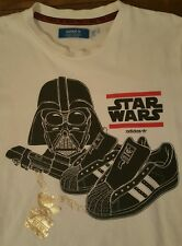 Star Wars adidas t shirt Darth Vader RUN DMC Rogue One my adidas