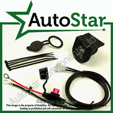 USB Kit, Mount 'C' Lead size: 1.5m 12/24 Volt Quad / ATV / Trike Dual Accessory