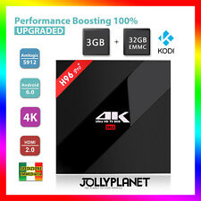 H96 PRO PLUS ANDROID 6.0 OCTA-CORE 2GHz BOX 32GB 3GB S912 WIFI HD IPTV 4K KODI