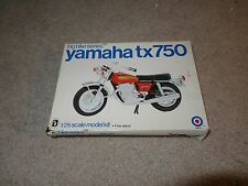Entex Big Bike Series Yamaha TX 750 TX750 1:25 Scale Model Kit Complete Unbuilt