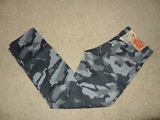 NWT-Levi's 511 Slim Fit Mens Corduroy Casual Pants Camo Cord Grey Sz 32x32 $68