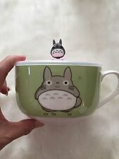 My Neighbor ToToRo Ceramic Bowl Cup Mug with Silicone Cover