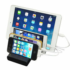 4-Port USB hub Charging Dock Station Charging Stand Fr IPAD/iPhone/tablet/phone
