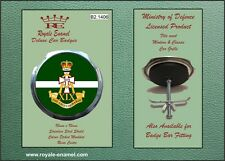 Royale Military Car Grill Badge - THE GREEN HOWARDS - B2.1406