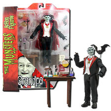 The Munsters Deluxe Action Figure Grandpa Munster - Diamond Select Toys