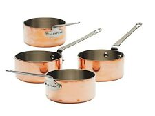SCANPAN Maitre D' 9cm Stainless Steel/Copper 4pce Mini Sauce Pot Set RRP $279.95