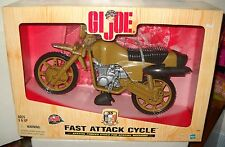 #6899 NRFB Hasbro 35th Anniversary GI Joe Fast Attack Cycle Vehicle