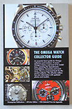 NEW! ALL COLOR Omega Watch Collector Book Seamaster Constellation Deville Serial