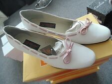 White and pink Womens Shoes Solada Moda Womens Evening shoes RRP£39.99 Size 3