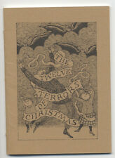 THE TWELVE TERRORS OF CHRISTMAS 1993 Limited Edition Signed JOHN UPDIKE, GOREY