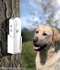 BARK NO MORE STOPPER DOG BARKING ULTRASONIC SIGNALS WIRELESS PORTABLE WALL MOUNT