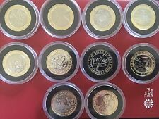 2015-2016 Royal Mint Brilliant Uncirculated 10 X £2 Two Pound Coin Complete Set