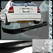 For 96-00 Honda Civic 3 Door Hatchback JDM Type R Polyurethane Rear Bumper Lip