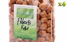 48oz Gourmet Style Bags of Extra-Large Premium Raw Filberts/Hazelnuts [3 lbs.]