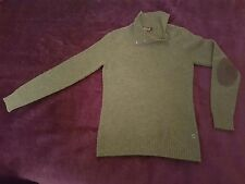 """LORO PIANA CASHMERE KNITWEAR SWEATER  ITALY PIT 2 PIT 17 """" SMALL FITTED STYLE 44"""